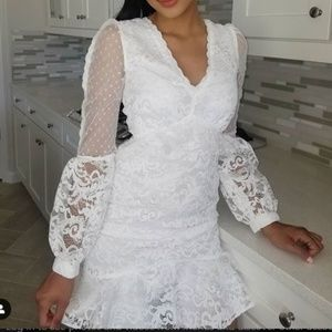 Boohoo Lace Boutique Dress